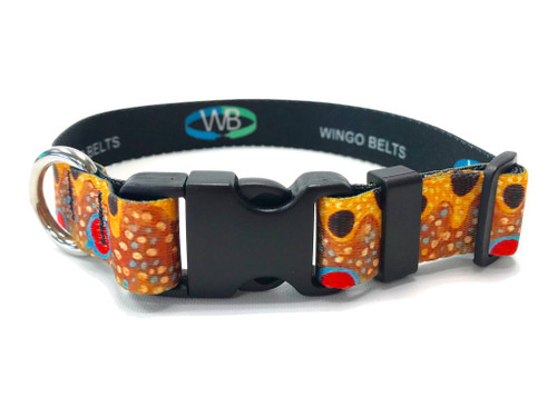 Wingo Dog Collar | Brown Trout