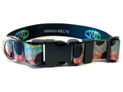 Wingo Dog Collar | Rainbow Trout