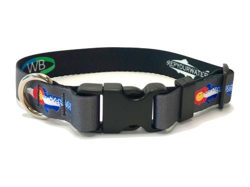 Wingo Dog Collar | RepYourWater Colorado Cutthroat