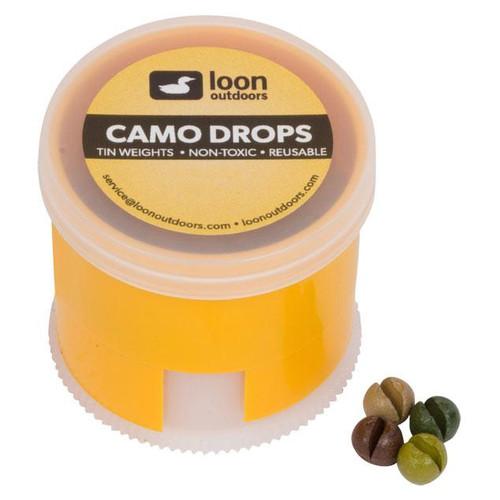Loon Outdoors Camo Drops Split Shot | Twist Pot