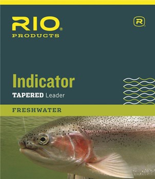 Rio Indicator Tapered Leader 10'