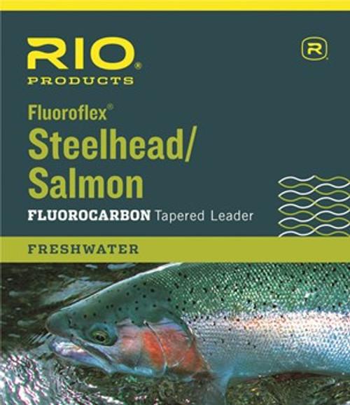 Rio Fluoroflex Steelhead / Salmon Tapered Leader 9'