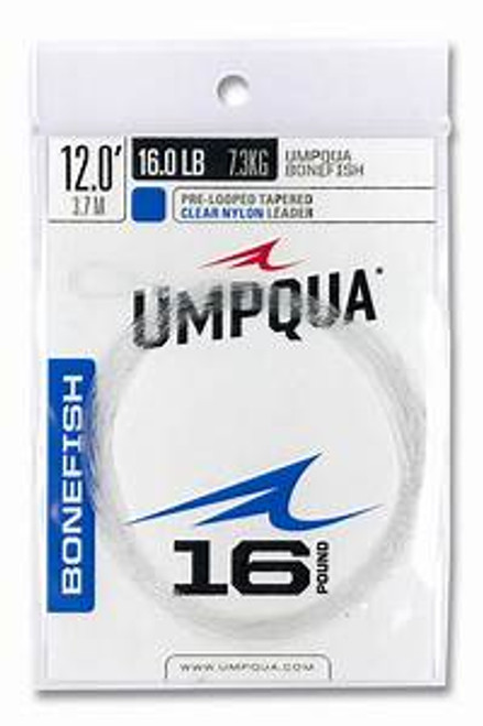 Umpqua Bonefish Tapered Leader 12'