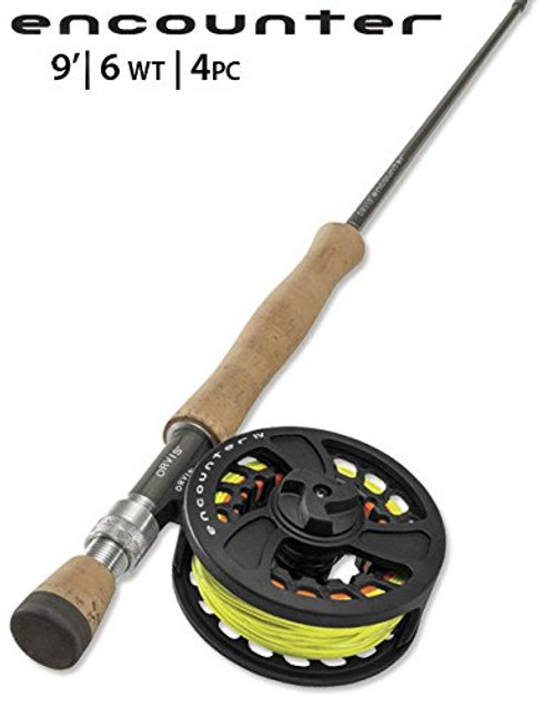 Orvis Encounter 6WT 9' Fly Rod Outfit