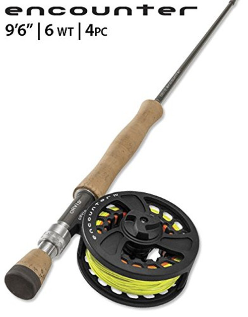 """Orvis Encounter 6WT 9'6"""" Fly Rod Outfit"""