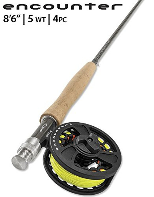 """Orvis Encounter 5WT 8'6"""" Fly Rod Outfit"""