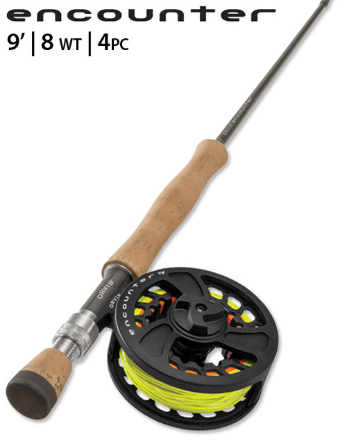 Orvis Encounter 8WT 9' Fly Rod Outfit