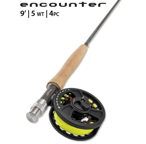 Orvis Encounter 5WT 9' Fly Rod Outfit