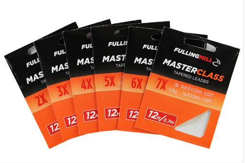 FullingMill Masterclass Tapered Leader 12ft