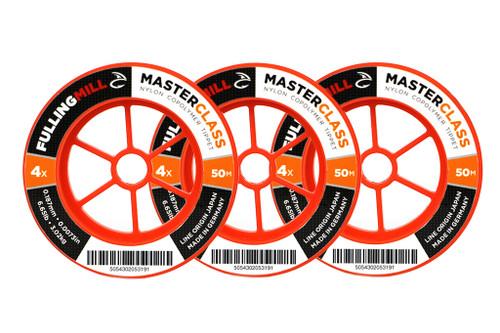 FullingMill Masterclass Nylon Tippet 50m
