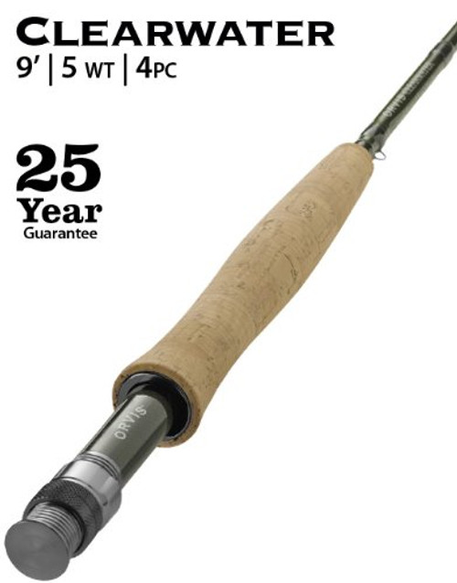 Orvis Clearwater 4 Piece Fly Rod | 9ft 0in 5WT
