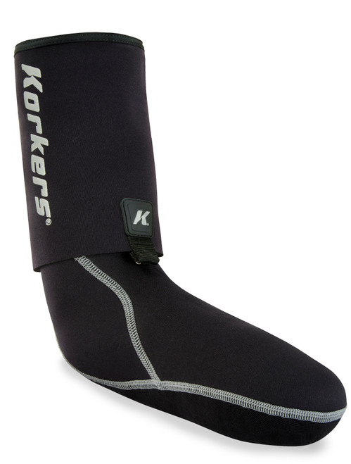 Korkers I-Drain Neoprene Guard Sock, 3.5mm