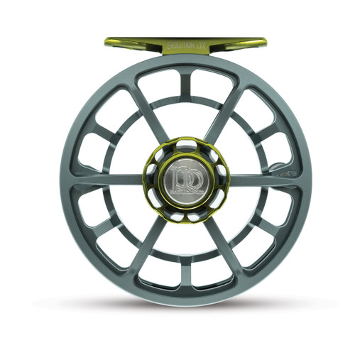 Ross Evolution LTX Fly Reel - 5/6WT Gunmetal/Olive - Limited Edition - Made USA