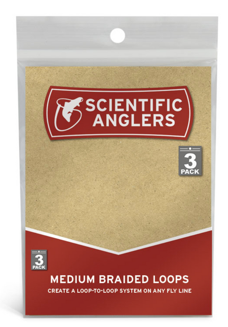 Scientific Anglers Braided Loops 3 Pack