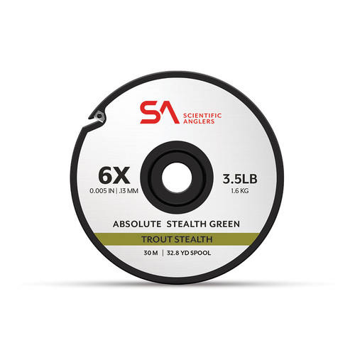 Scientific Anglers Absolute Trout Stealth Tippet 30M Spool