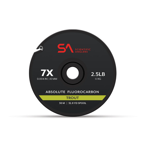 Scientific Anglers Absolute Trout Fluorocarbon Tippet 30M Spool