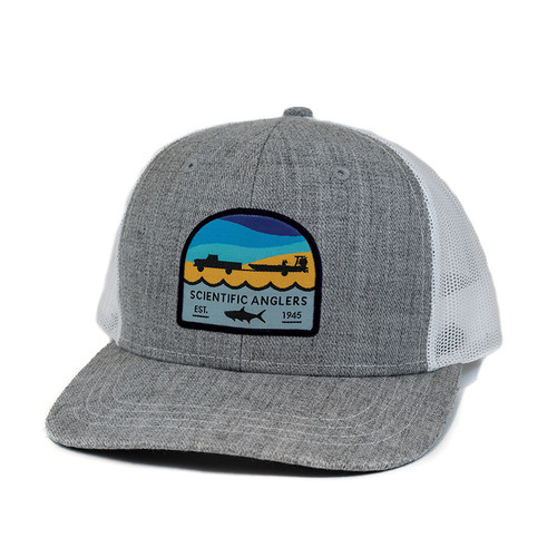 Scientific Anglers Tarpon Heather Gray Front/White Mesh Back Hat