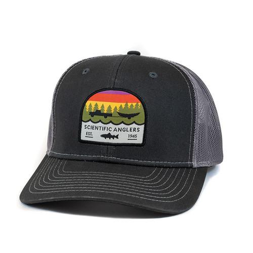 Scientific Anglers Trout Dark Gray Front/Dark Gray Mesh Back Hat