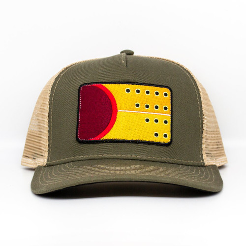Nate Karnes Cutthroat Trout Patch Hat Olive
