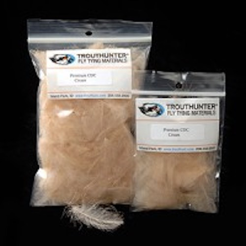 TroutHunter Premium Dyed CDC - 0.5g - Fly Tying