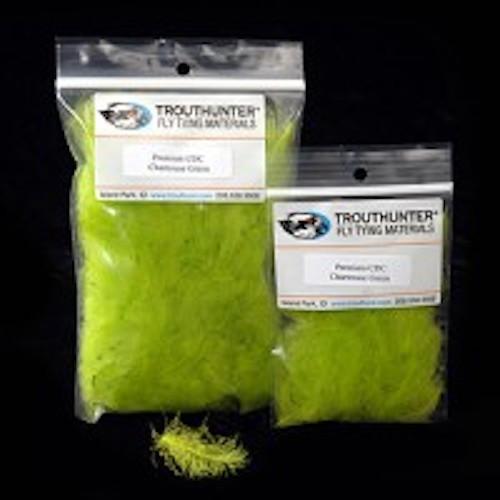 TroutHunter Premium Dyed CDC 0.5g Fly Tying Cream