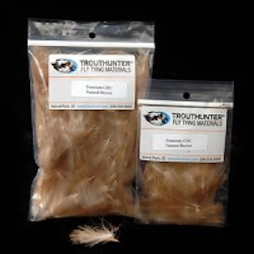TroutHunter Premium Natural CDC Bulk - 3.5g - Fly Tying