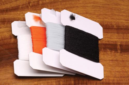 Hareline Polypropylene Yarn White - Fly Tying