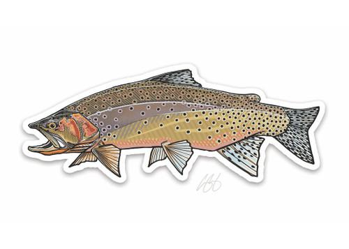 Casey Underwood Westslope Cutthroat Decal Sticker