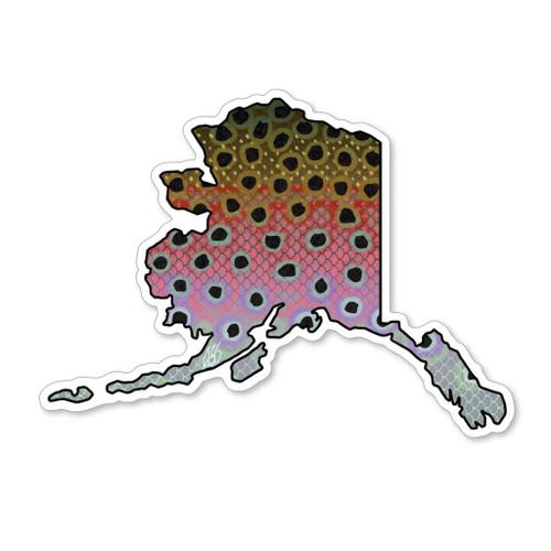 Casey Underwood Alaska Rainbow Decal Sticker
