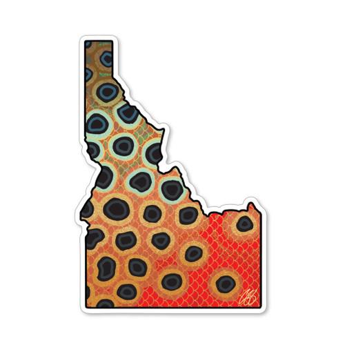 Casey Underwood Idaho Cutthroat Decal Sticker