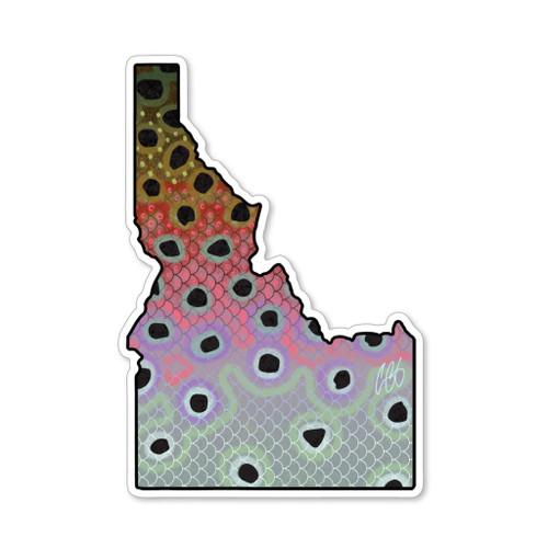 Casey Underwood Idaho Rainbow Decal Sticker