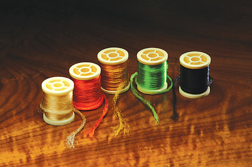 Hareline Antron Yarn Assorted Colors - Fly Tying