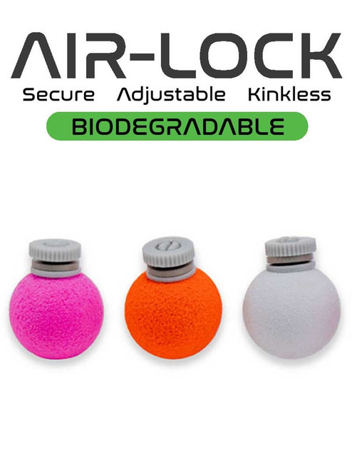 Airlock Biodegradable Indicator - Assorted Colors - 3 Pack