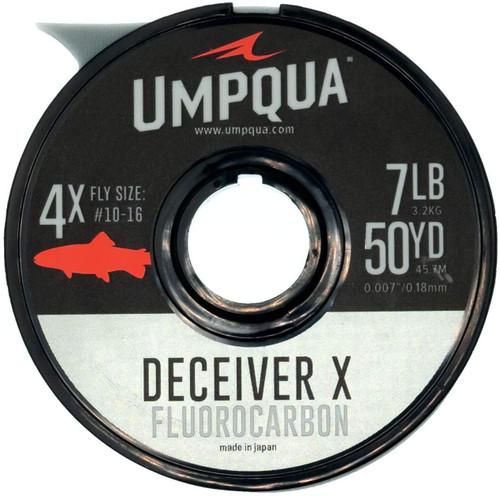 Umpqua Deceiver X Fluorocarbon Fly Fishing Tippet 50YDS