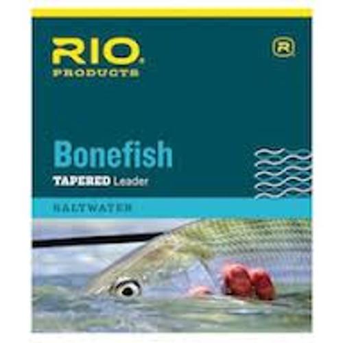 Rio Bonefish Tapered Leader 3 Pack 10'