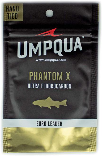 Umpqua Phantom X Euro Nymph Fly Fishing Leader 20'