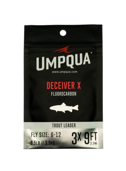 Umpqua Deceiver X Fluorocarbon Fly Fishing Leader 9ft
