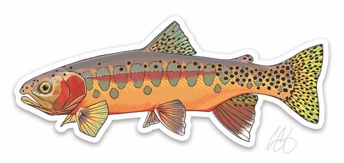 Casey Underwood Golden Trout Decal Sticker