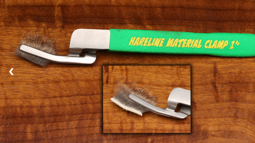 Hareline 1 Inch Long Material Clamp Set