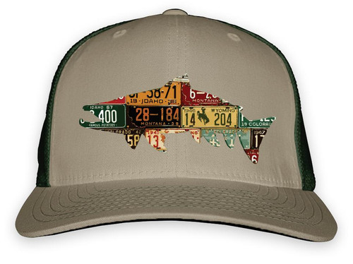 Rep Your Water Western Trout High Profile Hat - Codys Fish Collab