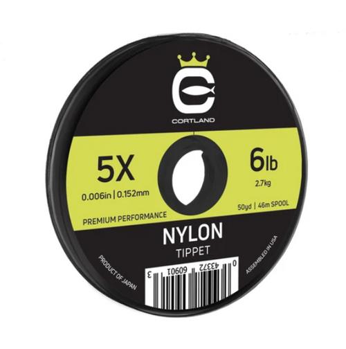 Cortland Copolymer Nylon Tippet 50YD