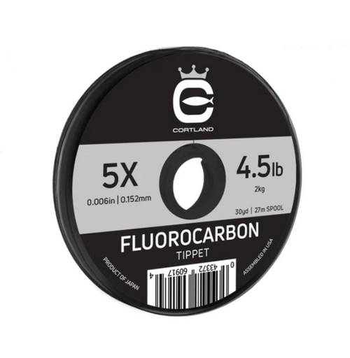 Cortland Fluorocarbon Tippet 30yd