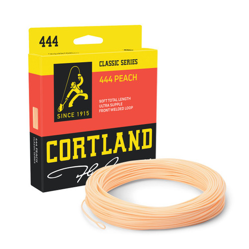 Cortland 444 Classic Freshwater Peach Fly Line