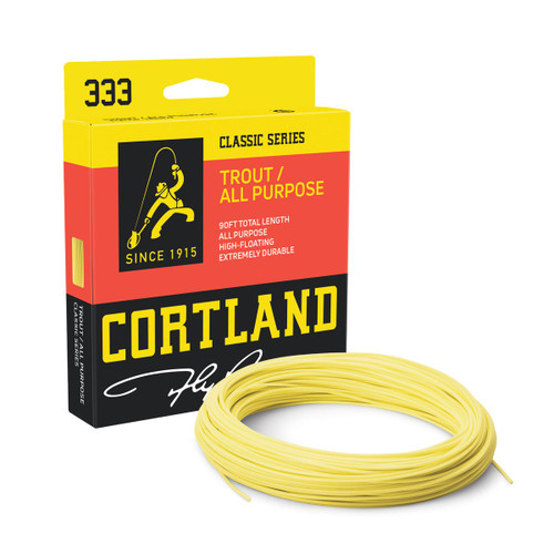 Cortland 333 Classic Trout All Purpose Fly Line