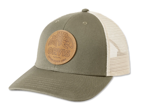 Orvis Cascadia Leather Patch Trucker