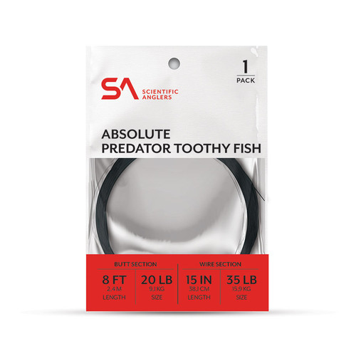 Scientific Anglers Absolute Predator Toothy Fish Leader