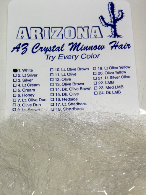 John Rohmer Arizona Crystal Minnow Hair