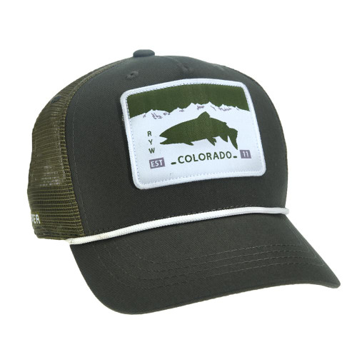 Rep Your Water Colorado License Plate 5-Panel Hat