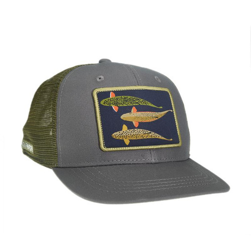 Rep Your Water Silhouette Trio High Profile Hat