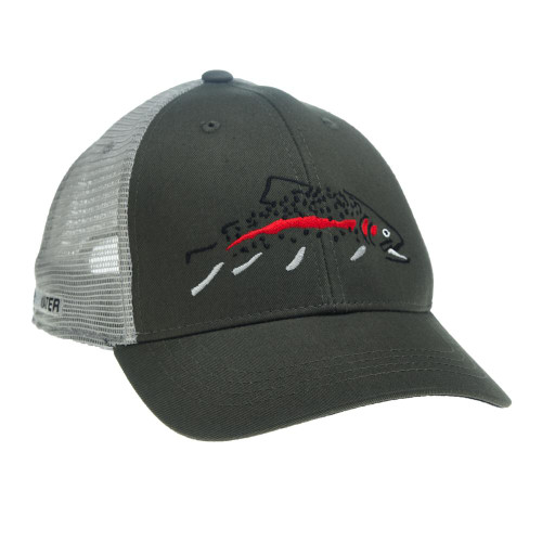 Rep Your Water Minimalist Rainbow Standard Fit Hat